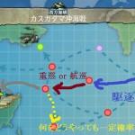 艦これ weekly 任務 Bw8「敵東方中枢艦隊を撃破せよ ! 」A勝利なら誰でも楽勝