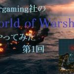 Wargaming社のWorld of Warshipsをやってみた 第1回 installなど